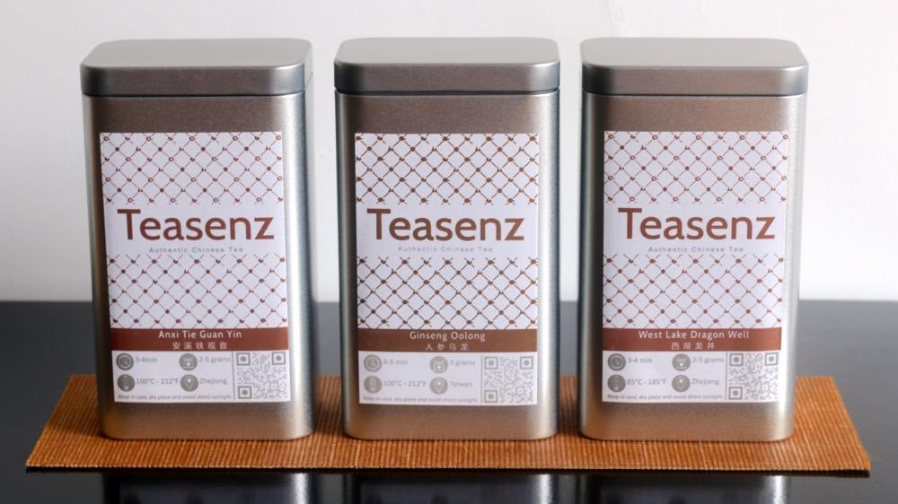 Tè in scatola metallica teasenz
