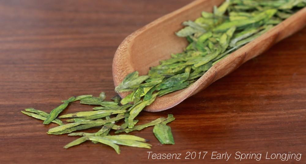 It's Here: 2017 Early Spring Longjing Tea