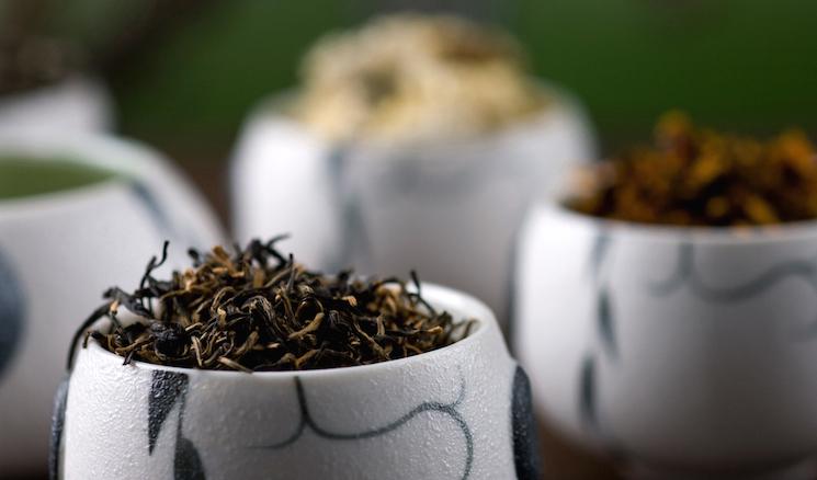 zwarte theesoort