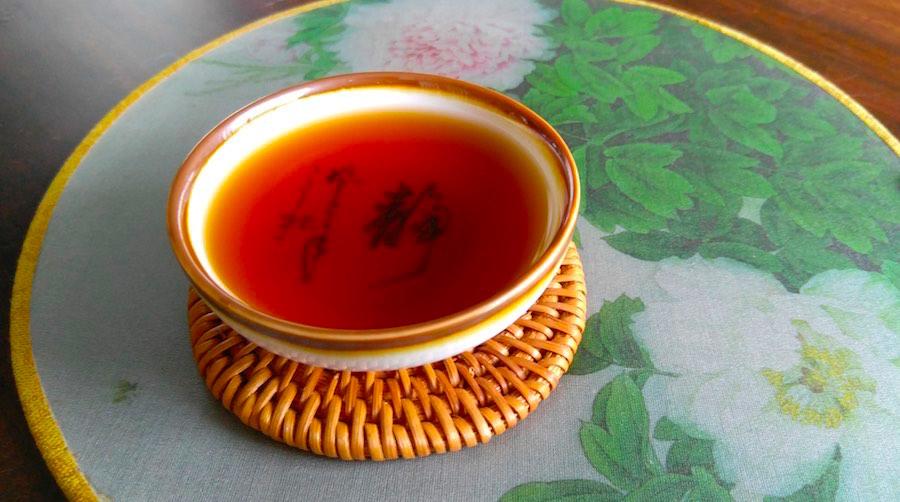 pu erh thee kleefrijst smaak aroma