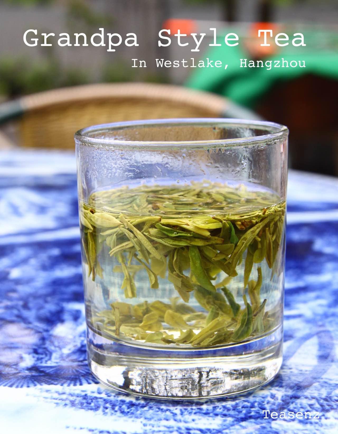 grandpa style tea brewing