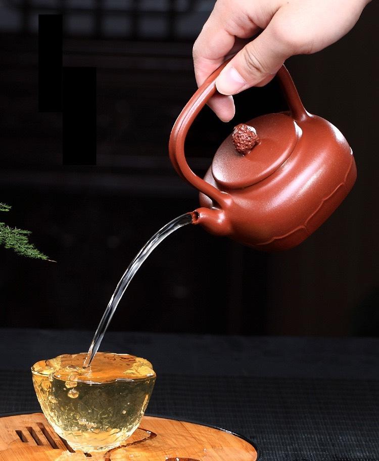 dry throat pu erh tea pouring speed.