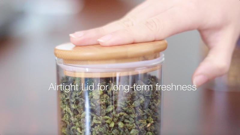 airtight jar for chrysanthemum tea preservation