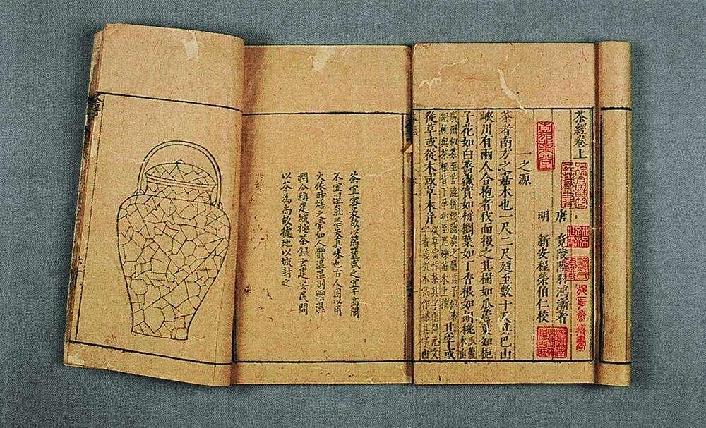 lu yu classics of tea oud exemplaar