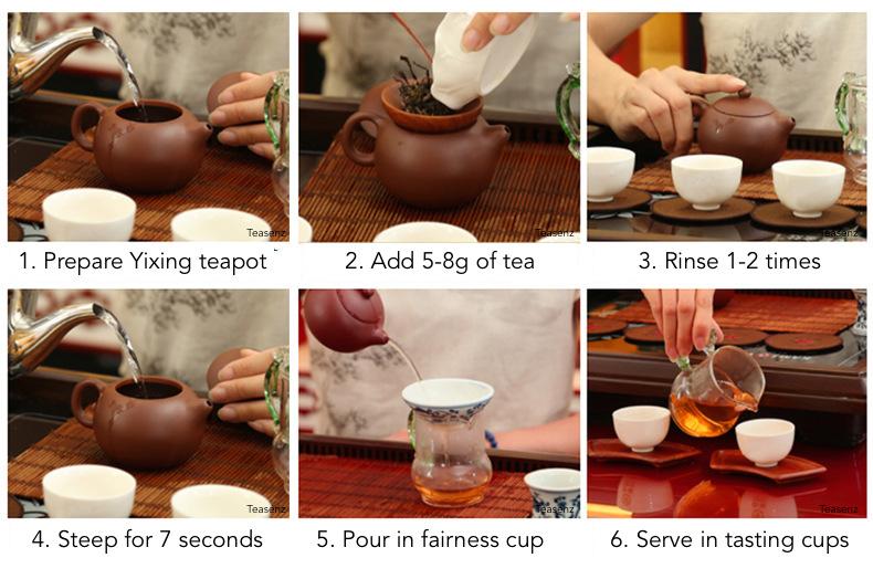 how to make liu bao tea
