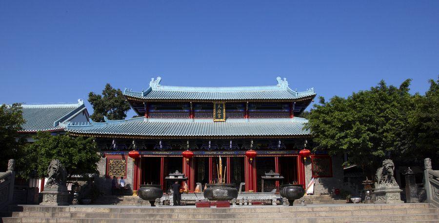 tian hao queen of heaven temple shenzhen