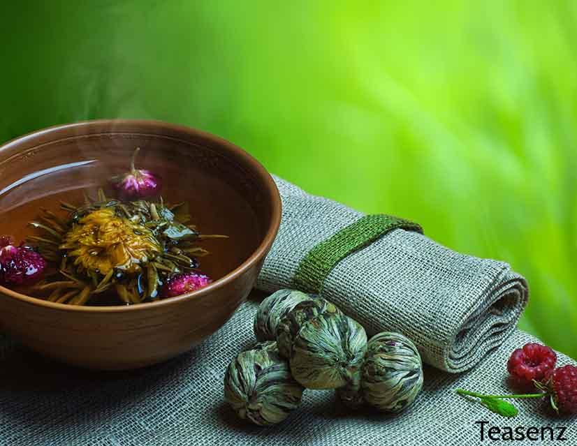 blooming tea health benefits